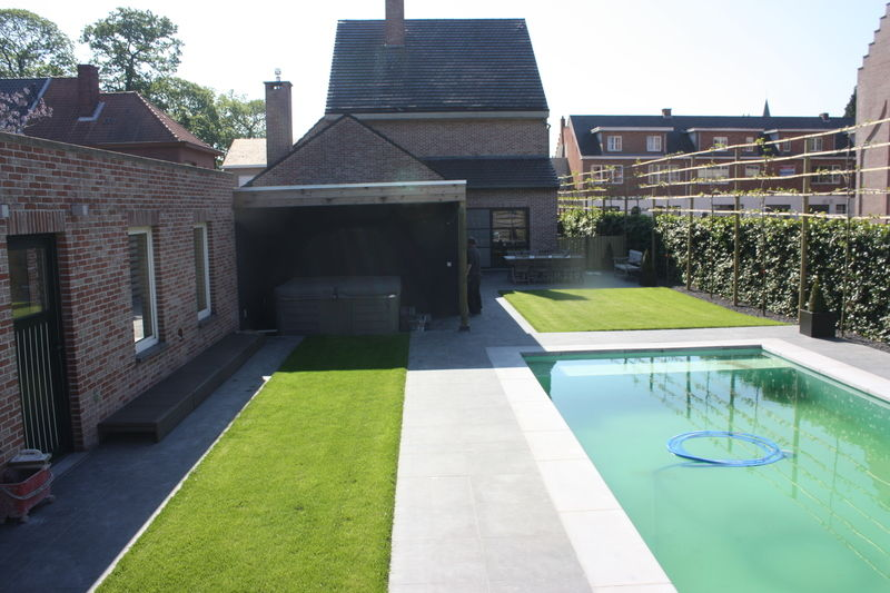 poolhouse en parking wuustwezel - 13/17