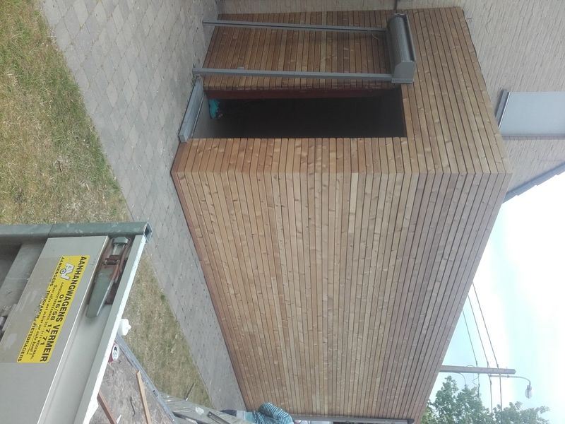 Thermowood gevelbekleding in k - 3/6