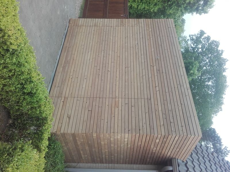 Thermowood gevelbekleding in k - 5/6