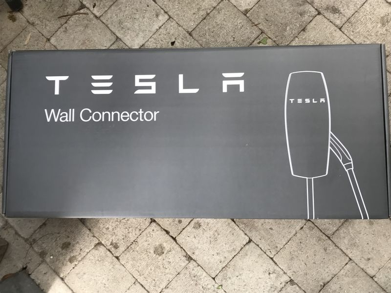 Tesla Wall Connector plaatsen. - 2/2