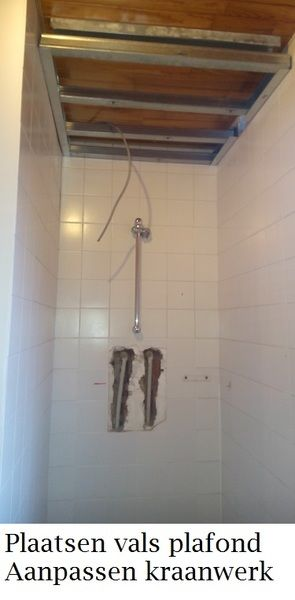 Doucherenovatie met Kerlite - 3/10