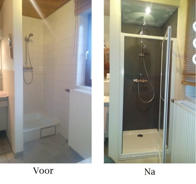 Doucherenovatie met Kerlite - 10/10