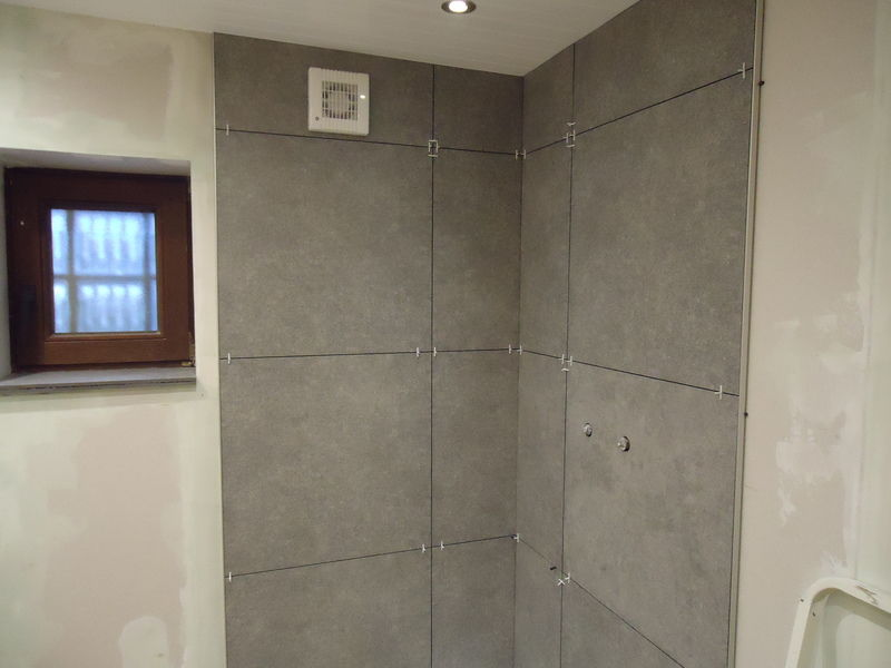 Renovatie douche  - 7/18