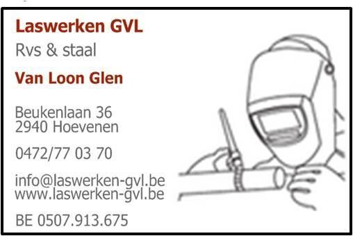 Laswerken Glen Van Loon