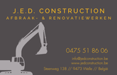 J.E.D. Construction BVBA