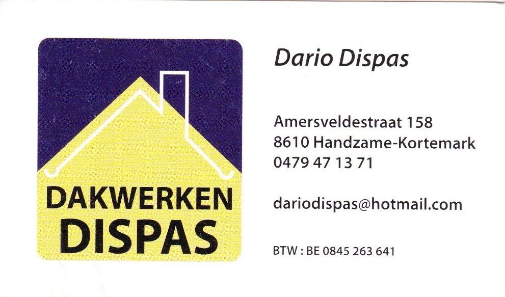 Dakwerken dispas