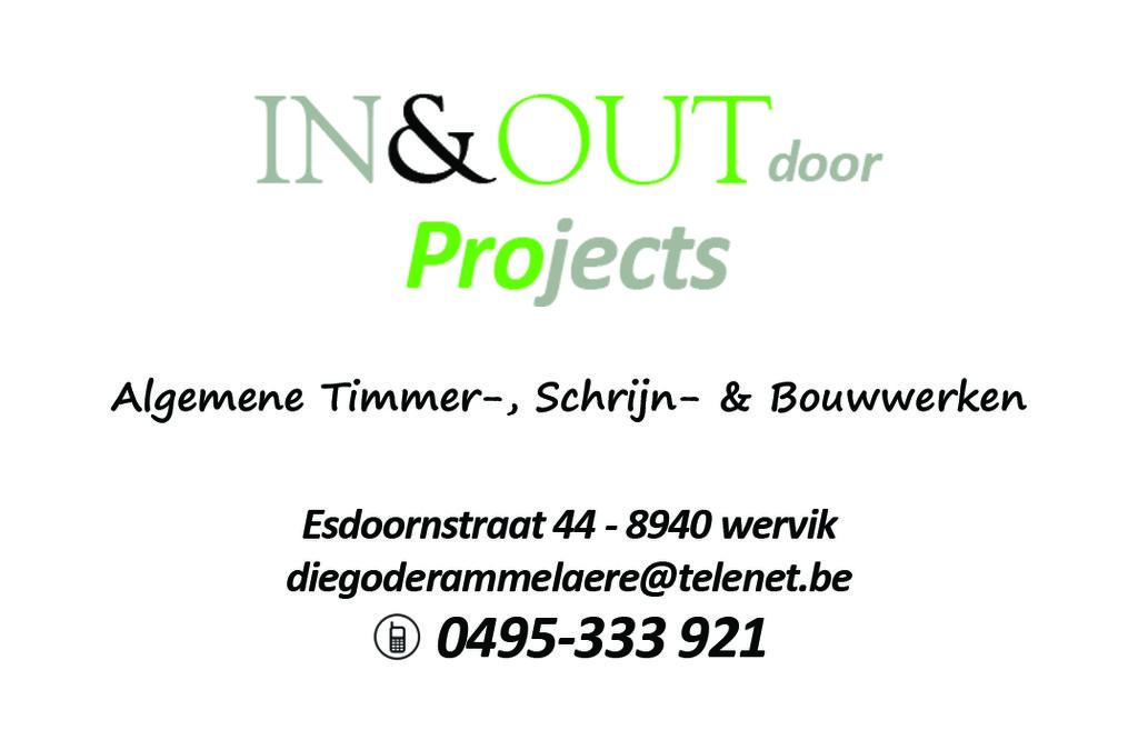 IN&OUT door Projects