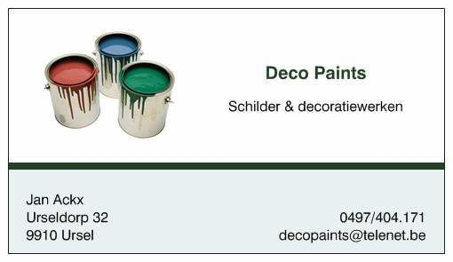 Deco Paints